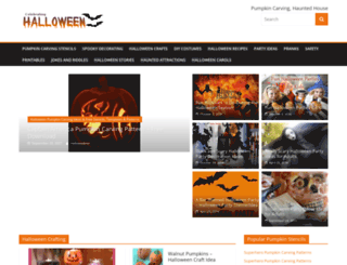 celebrating-halloween.com screenshot