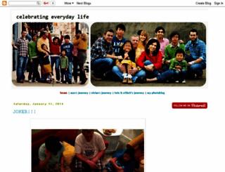 celebratingeverydaylife.blogspot.com screenshot