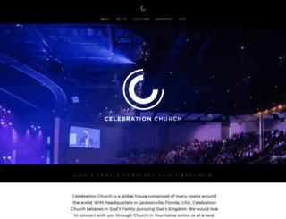 celebration.org screenshot
