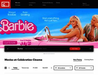 celebrationcinema.com screenshot