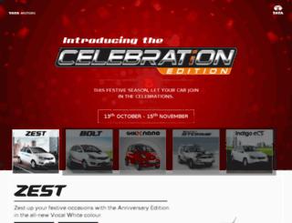 celebrationedition.tatamotors.com screenshot