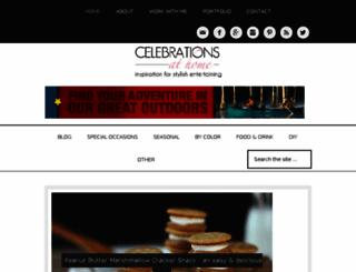 celebrationsathome.blogspot.com screenshot