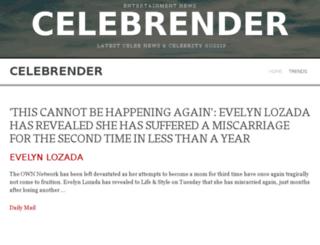 celebrender.com screenshot
