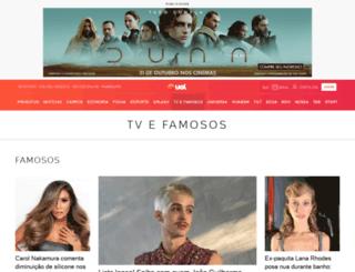 celebridades.uol.com.br screenshot