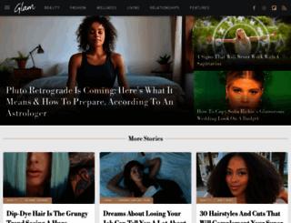 celebrities.glam.com screenshot
