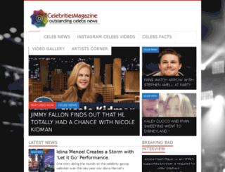 celebritiesmagazine.com screenshot