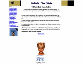 celebrity.hairresources.net screenshot