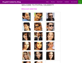 celebrity.psyphil.com screenshot