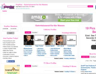 celebrity.screenstar.com screenshot
