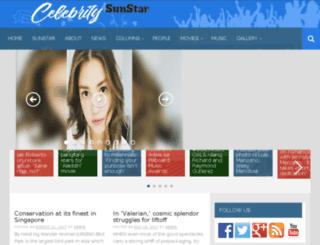celebrity.sunstar.com.ph screenshot
