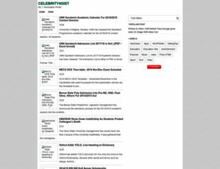 celebrity4gist.blogspot.com screenshot