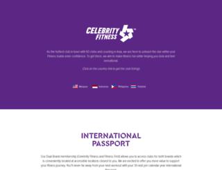 celebrityfitness.com screenshot