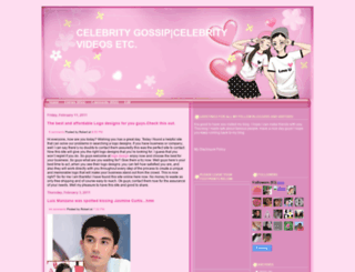 celebritygossipcelebrityvideosetc.blogspot.com screenshot
