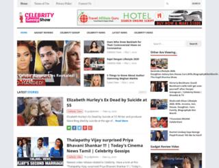 celebritygossipshow.com screenshot