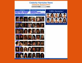 celebrityhairstylesnews.com screenshot
