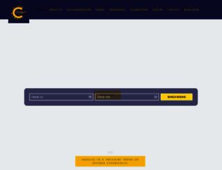 celebrityhospitality.com screenshot