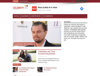 celebritylifejournal.com screenshot