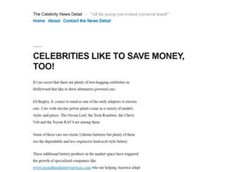 celebritynewsdetail.com screenshot