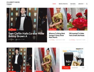 celebritynewstoday.loginby.com screenshot