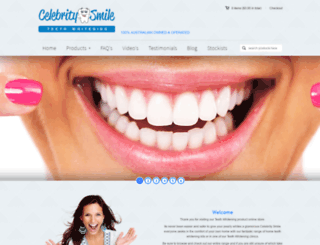 celebritysmile.com.au screenshot