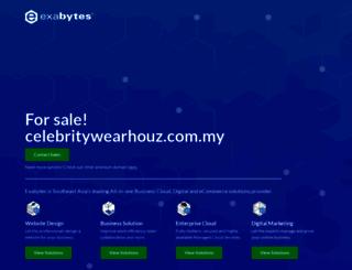 celebritywearhouz.com.my screenshot
