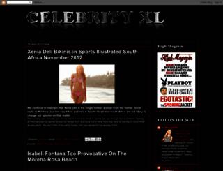 celebrityxl.blogspot.com screenshot
