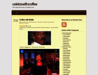 celebswithcoffee.wordpress.com screenshot