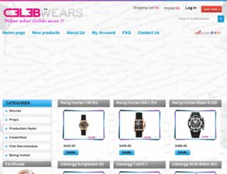 celebwears.com screenshot
