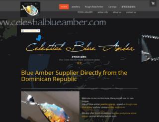 celestialblueamber.com screenshot