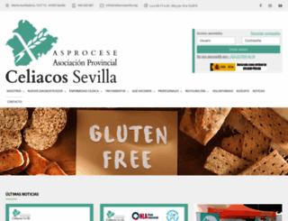 celiacossevilla.org screenshot