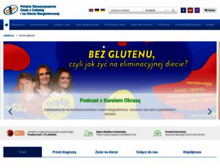 celiakia.pl screenshot