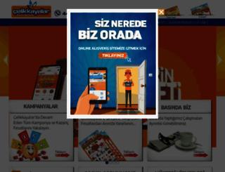 celikkayalar.com.tr screenshot
