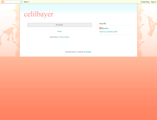celilbayer.blogspot.com screenshot