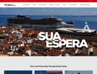 celina-tours.com screenshot