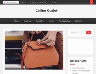 celine-outlet.net screenshot