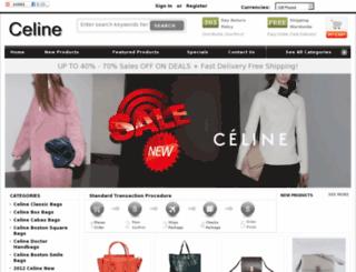 celinebag-outlet.com screenshot