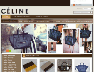 celineoutletstores.com screenshot