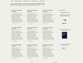 cellarheatlight.blogspot.com screenshot