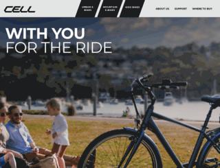 cellbikes.com.au screenshot
