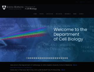 cellbio.jhmi.edu screenshot