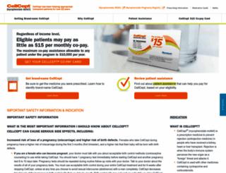 cellcept.com screenshot
