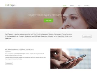 cellpages.com screenshot