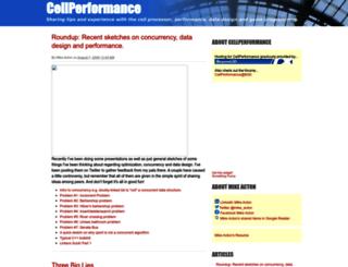 cellperformance.beyond3d.com screenshot