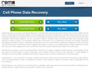 cellphonedata-recovery.com screenshot