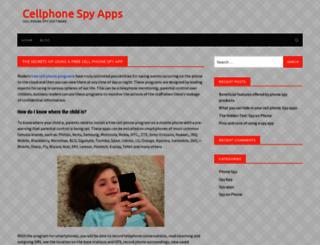 cellphonespy-review.com screenshot