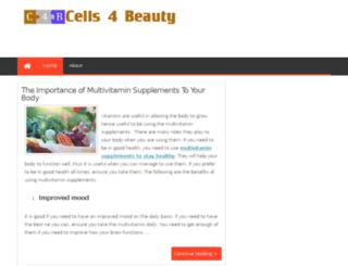 cells4beauty.com screenshot