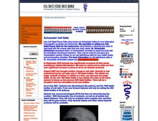 cellsaltstissuesaltsworld.com screenshot