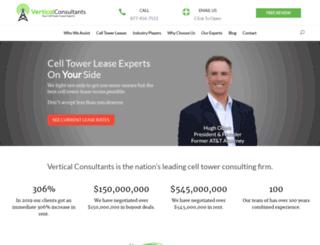 celltowerleaseexperts.com screenshot
