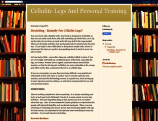 cellulite-legs.blogspot.com screenshot