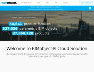 celotex.bimobject.com screenshot